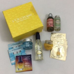 L'OCCITANE 13 Piece Skincare Travel Bundle